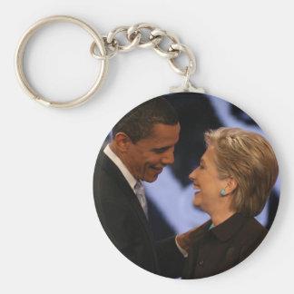 Le Président Obama Inauguration Keepsakes Porte-clé Rond