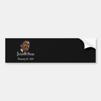 Le Président Obama Keepsake Autocollant Pour Voiture