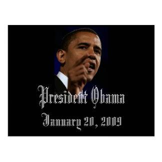 Le Président Obama Keepsake Cartes Postales