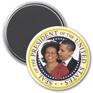 "Le Président Obama Keepsake Large 3"" aimant"