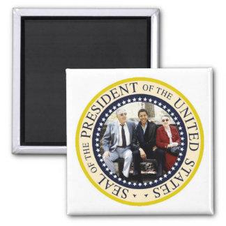 Le Président Obama Keepsake Magnet Carré