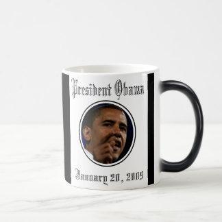 Le Président Obama Keepsake Morphing Mug Magique
