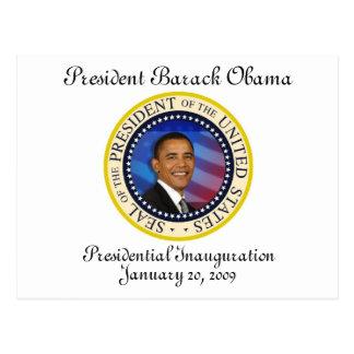 Le Président Obama Keepsake Presidential Cartes Postales
