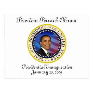 Le Président Obama Keepsake Presidential Carte Postale