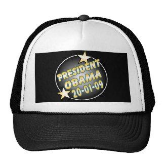 Le Président Obama Keepsakes Inauguration Hat Casquettes De Camionneur