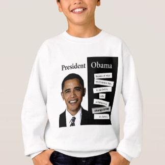 Le Président Obama Quote Sweatshirt