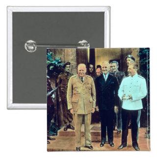 Le Président Truman et Joseph Staline Badges