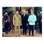 Le Président Truman et Joseph Staline Cartes Postales
