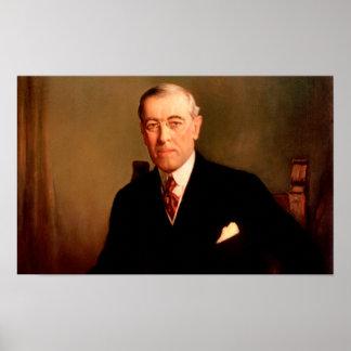 Le Président Woodrow Wilson Poster
