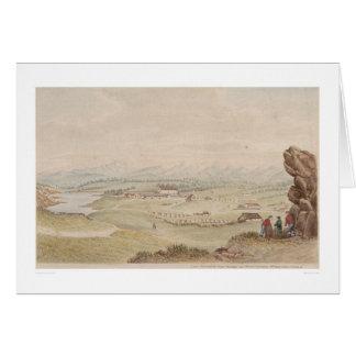 Le Presidio et le pueblo de Monterey (1104) Carte De Vœux