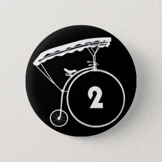 Le prisonnier numéro deux insigne de 2 boutons pin's