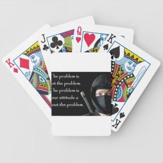 Le problème n'est pas le problème que le problème jeu de cartes