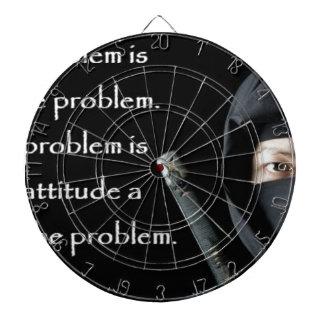Le problème n'est pas le problème que le problème jeu de fléchettes