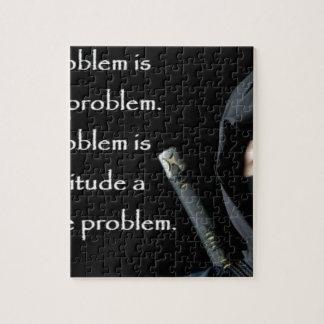 Le problème n'est pas le problème que le problème puzzle
