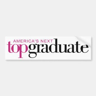 Le prochain diplômé supérieur de l'Amérique Autocollant De Voiture