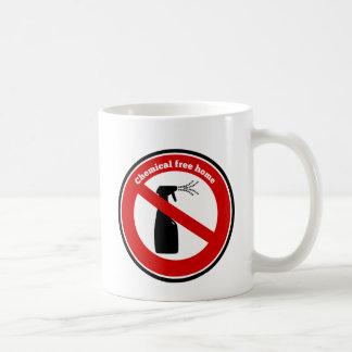 Le produit chimique libèrent à la maison mugs à café