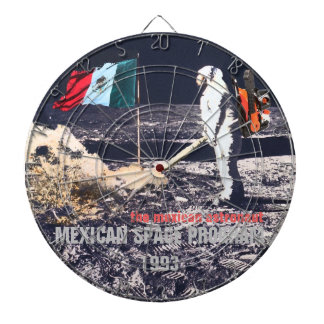 LE PROGRAMME SPATIAL MEXICAIN 1993 - panneau de da Jeu De Fléchettes