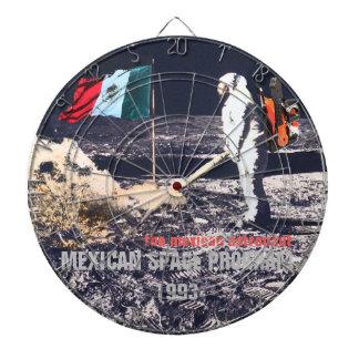 LE PROGRAMME SPATIAL MEXICAIN 1993 - panneau de Jeux De Fléchettes