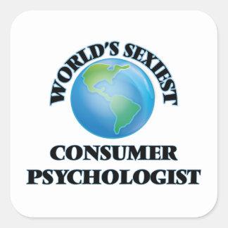 Le psychologue le plus sexy du consommateur du autocollants carrés