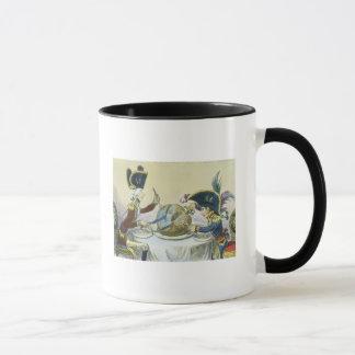 Le pudding de prune en danger, 1805 tasse