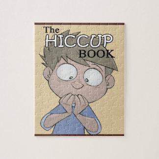Le puzzle de livre de hoquet - art de couverture -