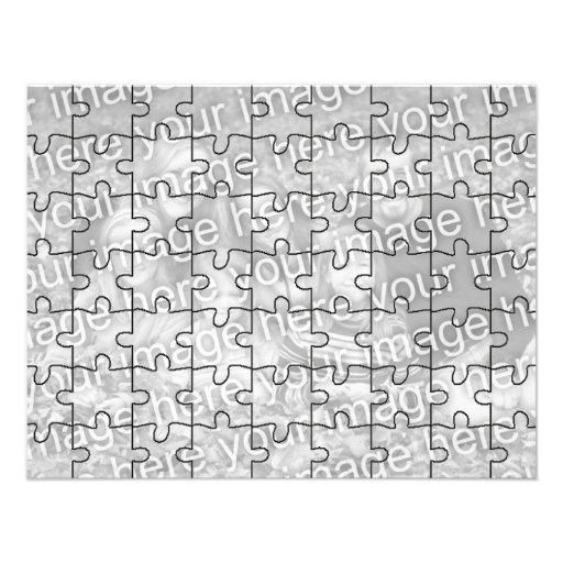"""Le puzzle personnalisable Card-63 de """"moquerie"""" de Faire-part Personnalisables"""