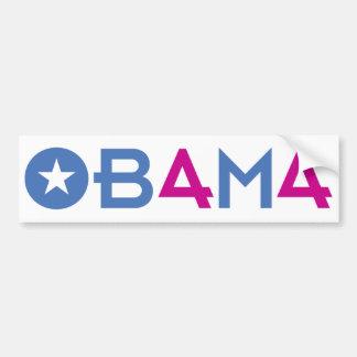 Le quarante-quatrième président, Barack Obama, par Autocollants Pour Voiture