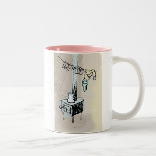 Le Québec-Backcountry Mug Bicolore