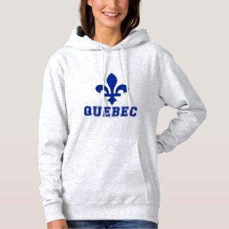 Le Québec Pull À Capuche