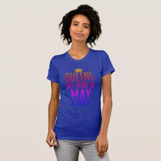 Le Queens sont né en mai T-shirt