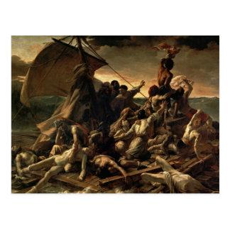 Le radeau de la méduse - Théodore Géricault Carte Postale