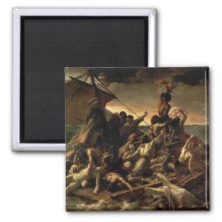 Le radeau de la méduse - Théodore Géricault Magnet Carré