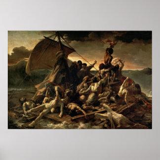 Le radeau de la méduse - Théodore Géricault Poster