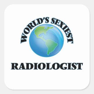 Le radiologue le plus sexy du monde sticker carré