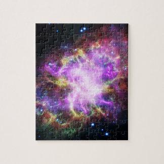 Le rayon X de Chandra dans la nébuleuse de crabe Puzzles