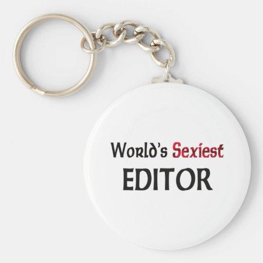 Le rédacteur le plus sexy du monde porte-clef