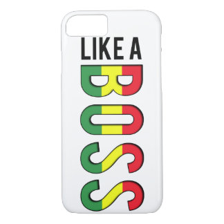 Le reggae AIMENT un PATRON Coque iPhone 7