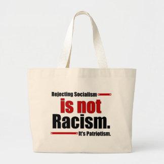 Le rejet du socialisme n'est pas racisme… grand sac