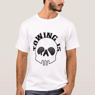 Le remorquage est T-shirt de crâne de rad
