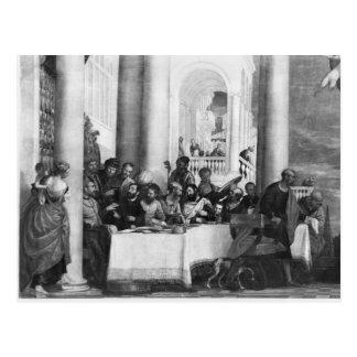 Le repas à la Chambre de Simon le Pharisee Carte Postale