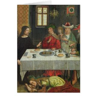 Le repas à la Chambre de Simon le Pharisee Cartes