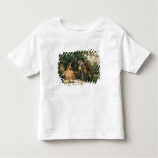 Le repas du pêcheur à la ligne (huile sur la t-shirt pour les tous petits
