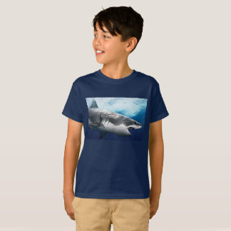 Le requin de Taureau unisexe badine le T-shirt