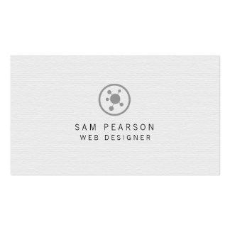 Le réseau de concepteur de Web dirige l'Internet Carte De Visite Standard