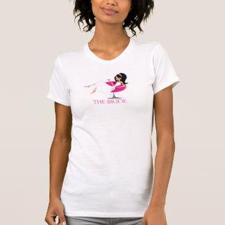 Le réservoir de jeune mariée t-shirts