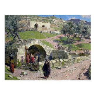 Le ressort de Vierge à Nazareth, 1882 Carte Postale