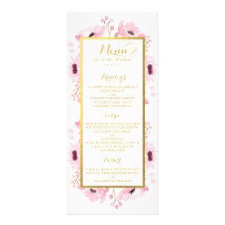 Le ressort dentelle la collection florale de carte publicitaire