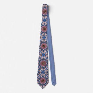 Le ressort rose se développe 2.2.2, mandala de cravate