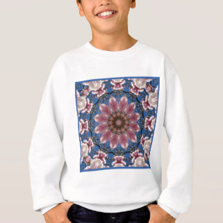 Le ressort rose se développe 2.2.2, mandala de sweatshirt