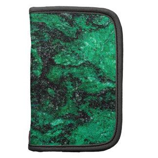 Le résumé colore le marbre vert agenda folio